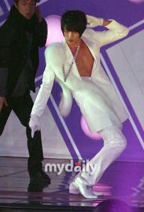 Jae Joong with fur coat(??)