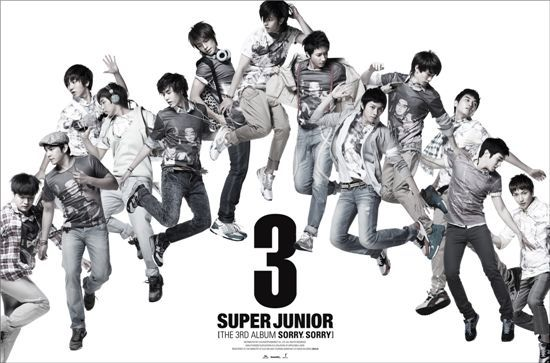 suju 3rd album repackage