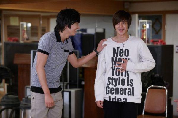 Lee Min Ho & Kim Hyun Joong