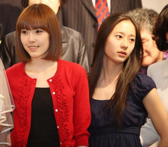 Jessica SNSD Krystal f(x)