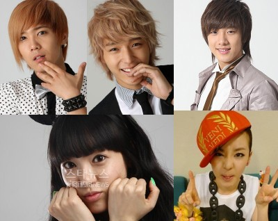 2NE1 FT Island After School