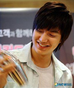 Lee Min Ho barista