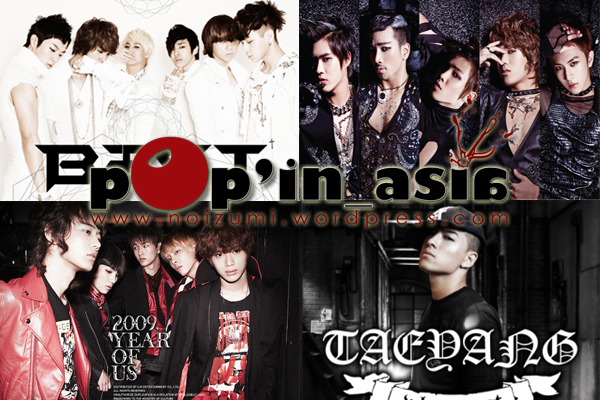 B2ST, MBLAQ, SHINee, Tae Yang