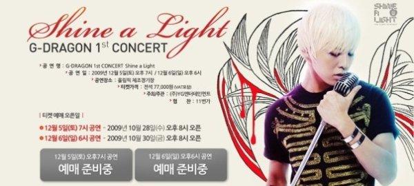 G Dragon Shine A Light
