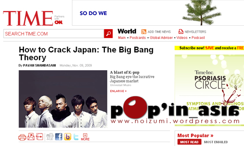 Big Bang Time sites